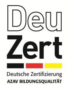 Zertifizierung durch Deuzert (Logo)